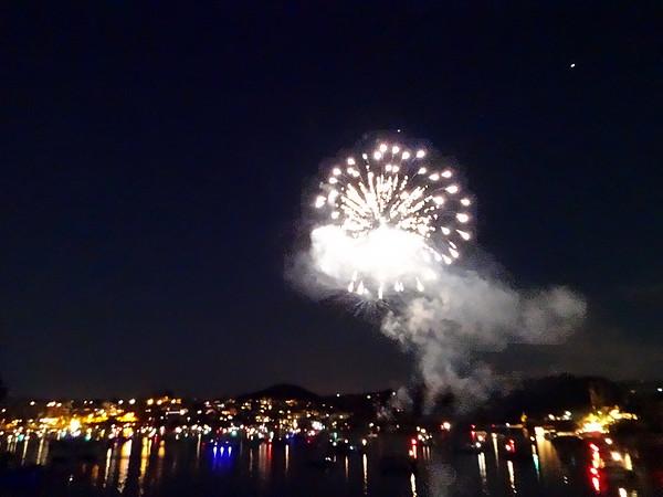 Fourth of July Celebration 2016 Lake Arrowhead CA and Canyon Lakes CA