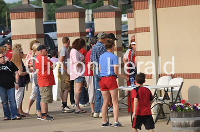 Fourth of July at the Clinton LumberKings