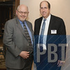 Mark Miner, left, of Mark Miner Communications, Inc. and Patrick Maley of PNC Bank.