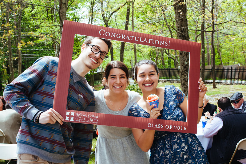 Fr. Chris's BBQ and Graduation Rehearsal - May 19, 2016