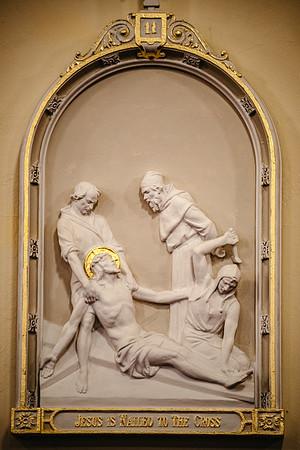 _NIK1641 Lent St  Patricks Fr  Markellos shroud