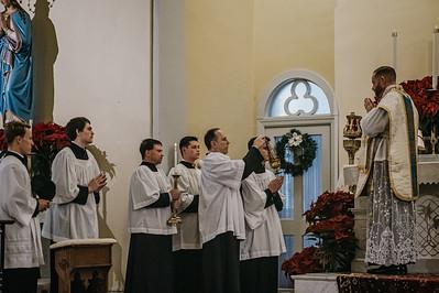 8428 Fr  Coffiey LatinMass St  Patricks
