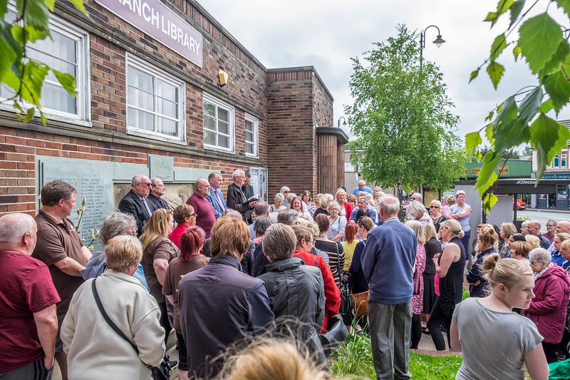 People of Little Lever remembering the people of Manchester caughT up in tHe bombing.