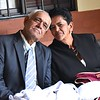 Mom and dad relaxing before Mass