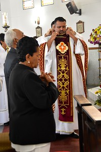 Putting on the chasuble