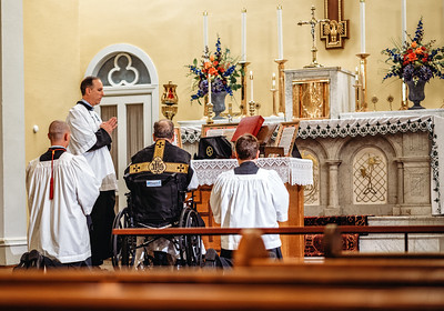 fr  klein wheelchair all souls latinmass st patricks (1 of 1)