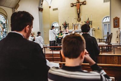5807 LatinMass St  Patricks Fr  Klein Wheelchair