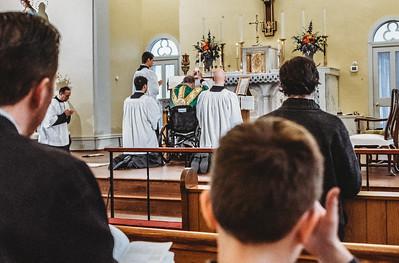 5809 LatinMass St  Patricks Fr  Klein Wheelchair