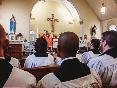 latinmass st  patricks fr  klein schola pentecost (1 of 1)