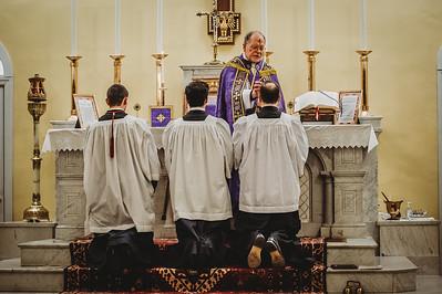4268 Ash Wednesday LatinMass St  Patricks Fr  Klein