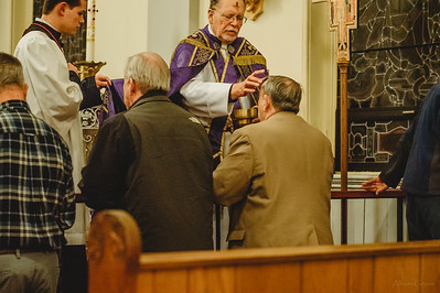 4277 Ash Wednesday LatinMass St  Patricks Fr  Klein
