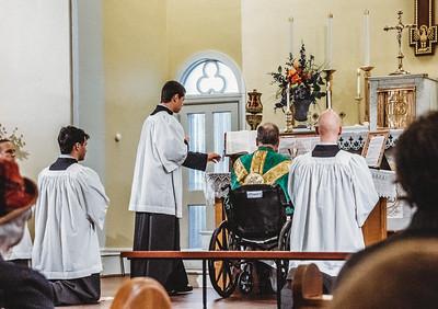 5806 LatinMass St  Patricks Fr  Klein Wheelchair
