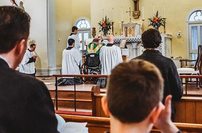 LatinMass St  Patricks Fr  Klein Wheelchair-5
