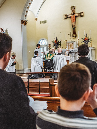5808 LatinMass St  Patricks Fr  Klein Wheelchair