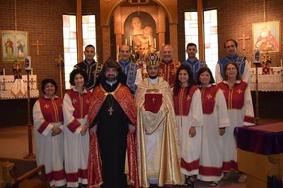 Fr. Voskan Hovhannisyan, First Divine Liturgy