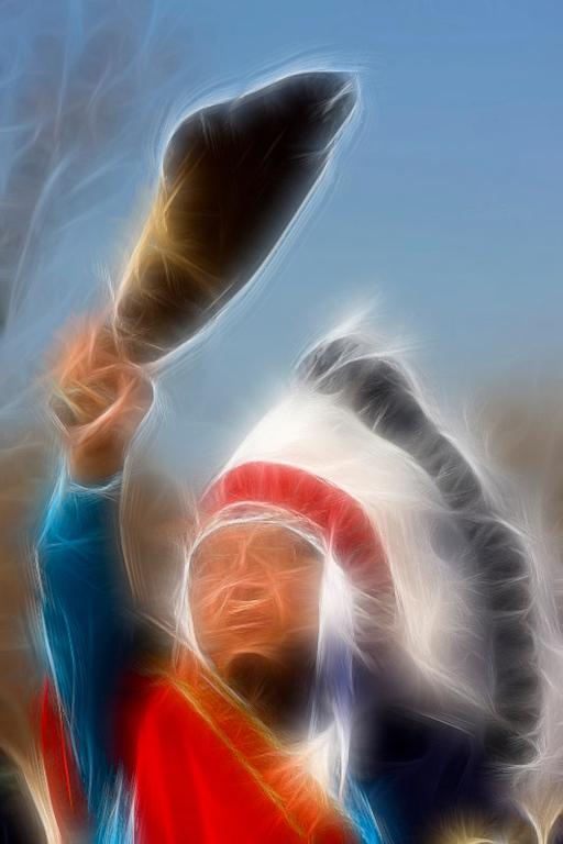 Cheyenne Chief Gordon Yellowman