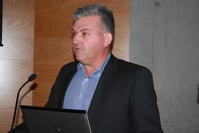 Fjármálaráðstefna ÍSÍ, haldin í Laugardalshöll 29. nóvember 2013. Jón Karl Ólafsson formaður Fjölnis hélt erindi á ráðstefnunni.