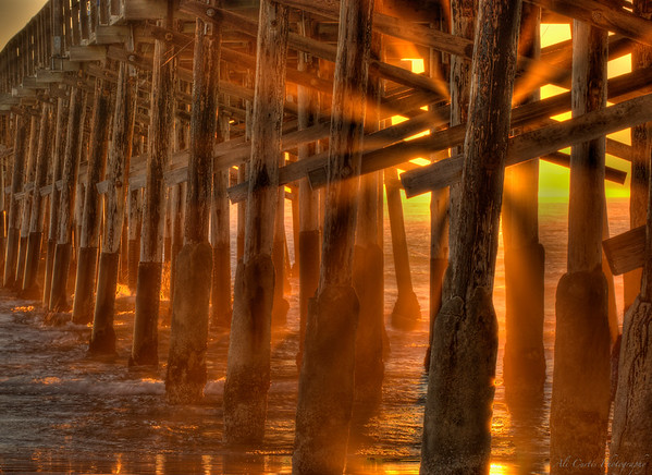 Newport Beach Pier, California  Awarded Third Place in its category in the 2011 OC Fair.