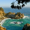 McWay Falls<br /> Julia Pfeiffer State Park<br /> Big Sur, California<br /> <br /> This was my first sunset with a DLSR in hand.
