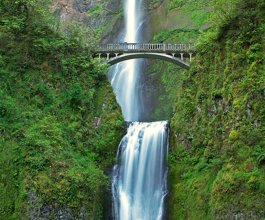 Multnomah Falls Columbia River Gorge