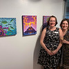 Artistic sisters Tory Voner of Lowell and Allyson Voner of Lee