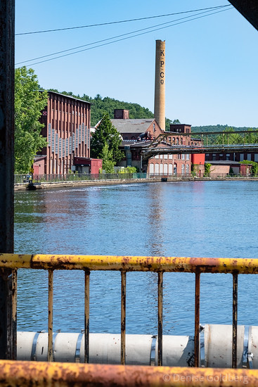 canalside in Turners Falls
