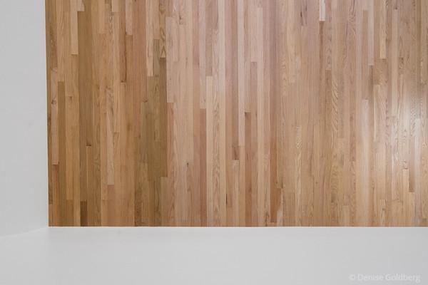 living room :: refinished floor