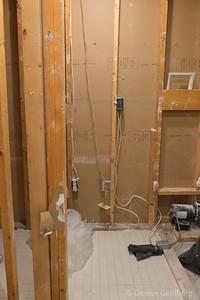 master bathroom :: demolished