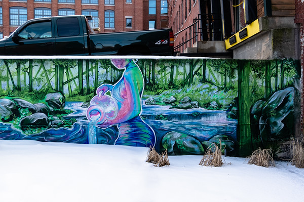 mural in Lawrence, MA