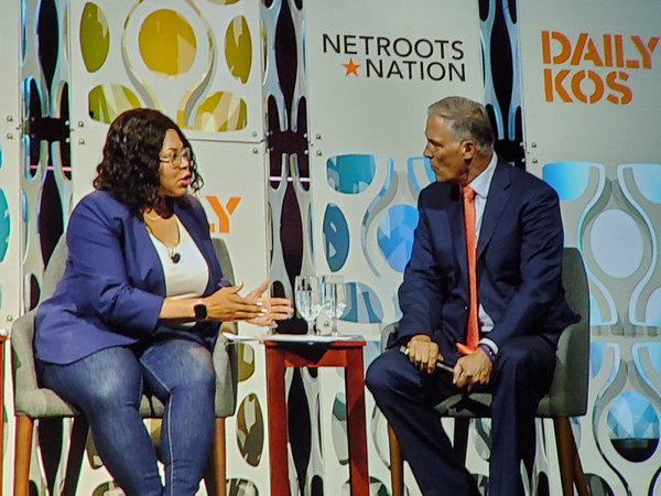 Jay Inslee and Cheryl Contee