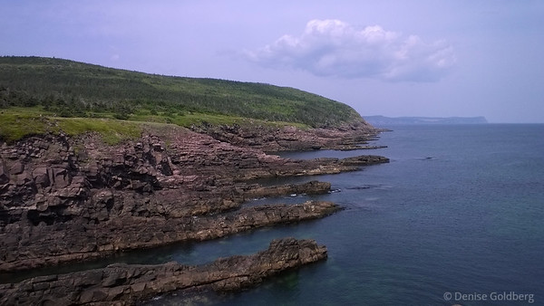jagged rocks at Cape Spear, Newfoundland