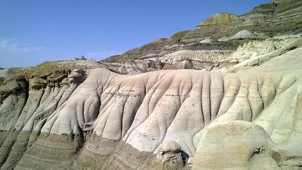 badlands near Drumheller, Alberta