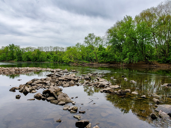 a view across the river, Valley Forge National Historical Park