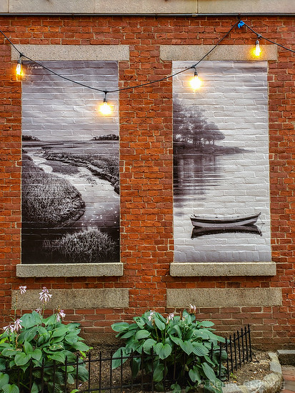 murals in Portsmouth, NH, created by Brian René Bergeron