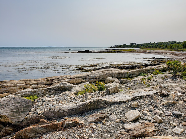 a view from Odiorne Point State Park