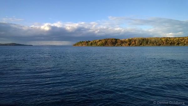looking at Bar Island