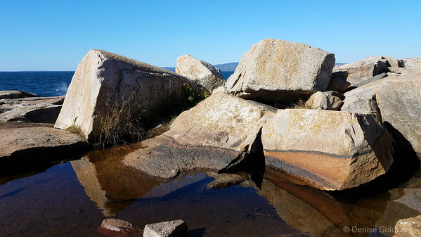 rocks, at the tip of the Schoodic Peninsula