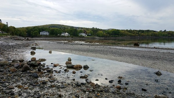 Bar Harbor, near the low tide exposed path to Bar Island