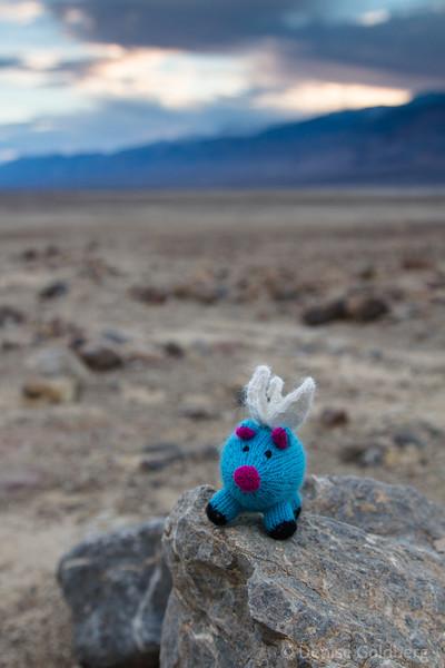 Blue, in Death Valley