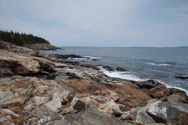 coastal glimpse, Acadia National Park