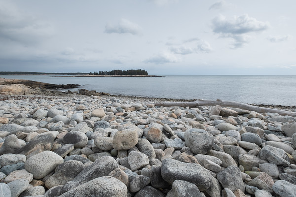 rounded rocks, Schoodic Peninsula