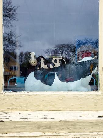 in a window