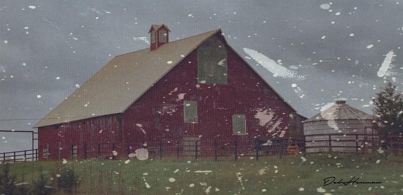 red barn paint textur Topaz 2018 Kansas -0727-2-1-Edit