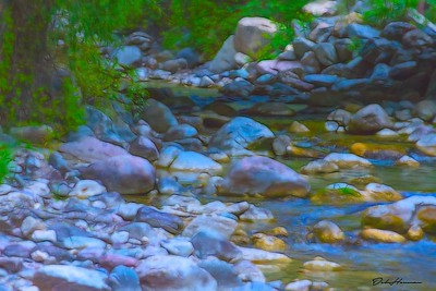 topaz glow soft liquid stream in CO 2018 Grizzly Creek-7222-Edit