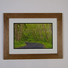 "Stained Cherry 2"" Frame with Double Mat"