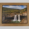 "Canvas with Natural Cherry 2"" Floating Frame"
