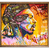 Original oil painting of Jimmi Hendrix