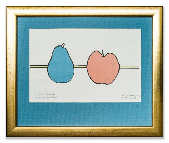 Artwork of Apple and Pear