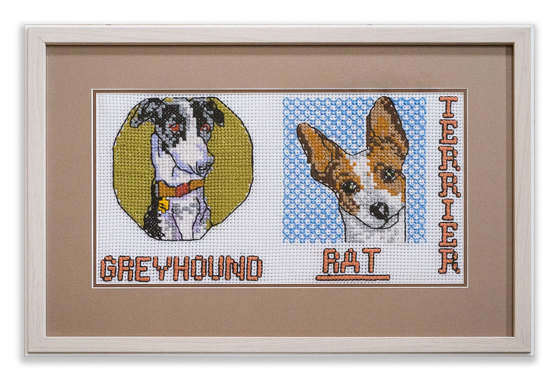 Original Cross-stitch design by Stuart Beattie