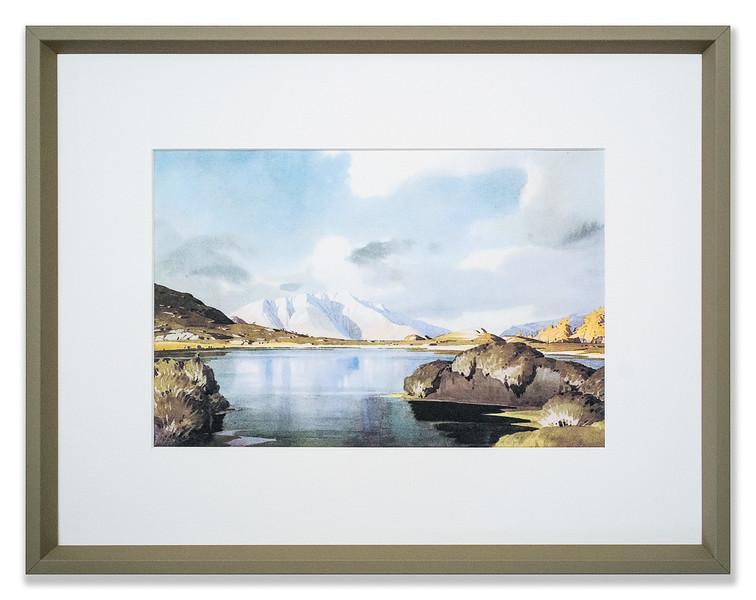 Print of Blencathra from Amboth by W Heaton Cooper R.I